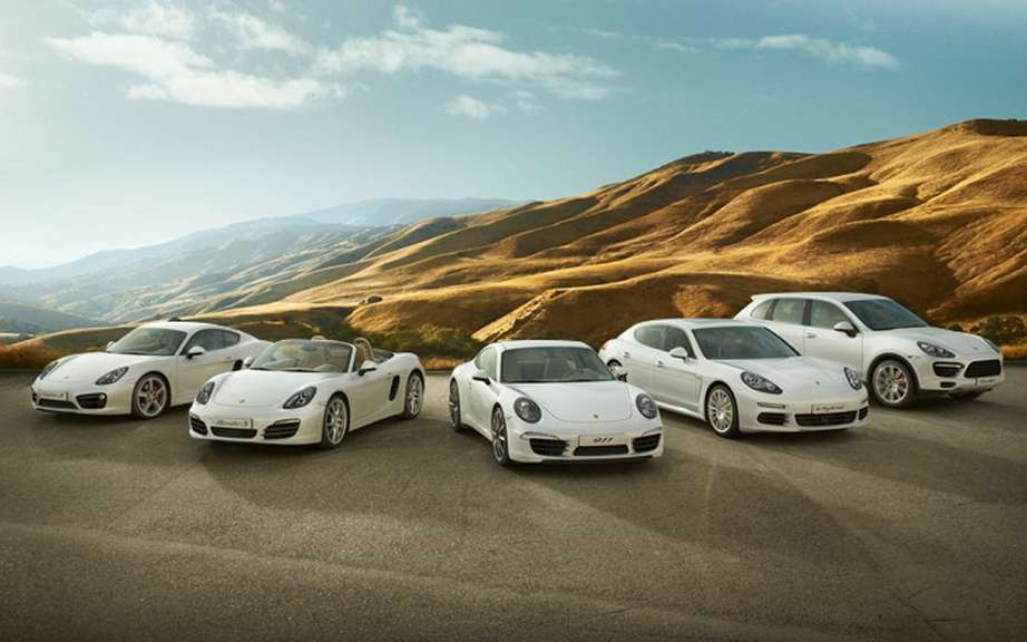 Porsche Canada establishes a new record sales in September