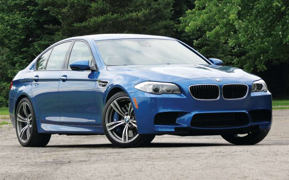 BMW M5 and M6 traction integral picture #2