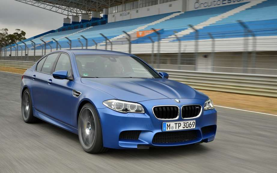 BMW M5 and M6 traction integral picture #3