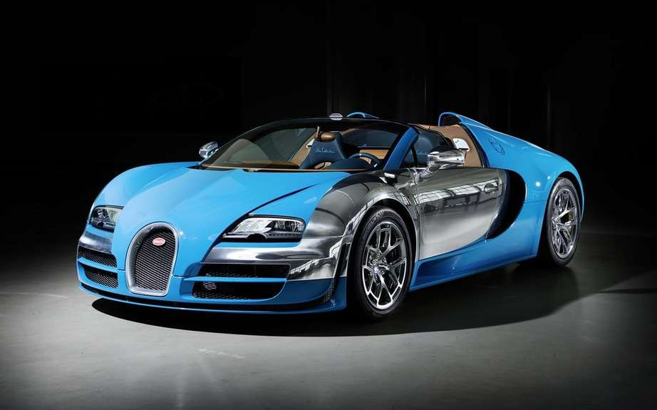 Bugatti Veyron Grand Sport Speed ​​tribute to pianist Lang Lang