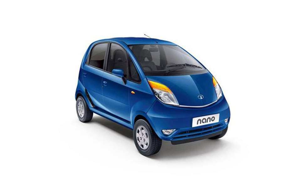 Tata Nano to police in New Delhi picture #2