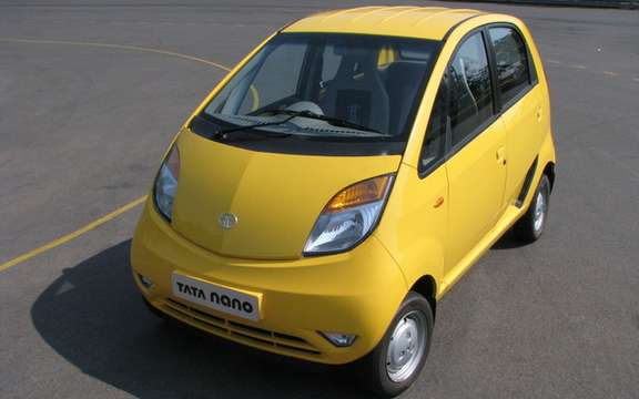 Tata Nano to police in New Delhi picture #4