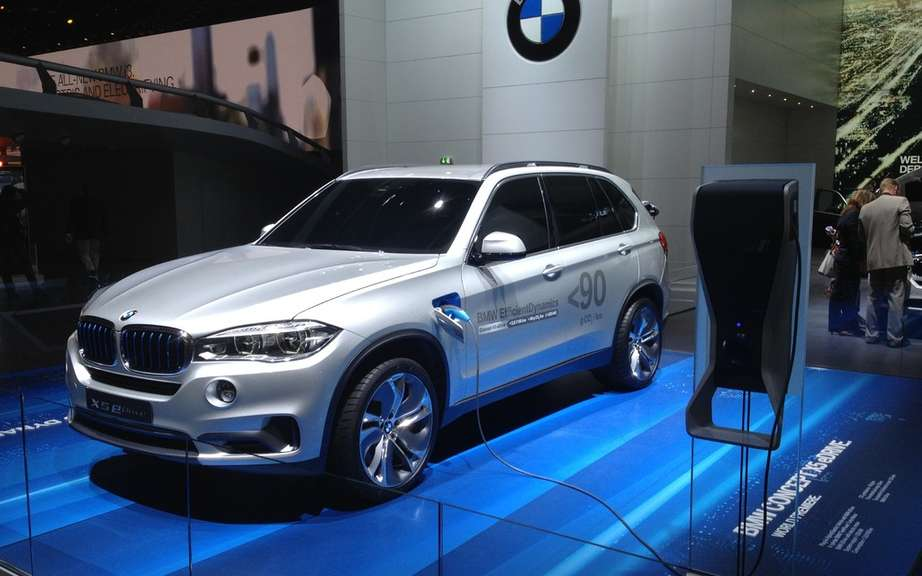 BMW X5 eDrive: production planned for 2015 picture #2