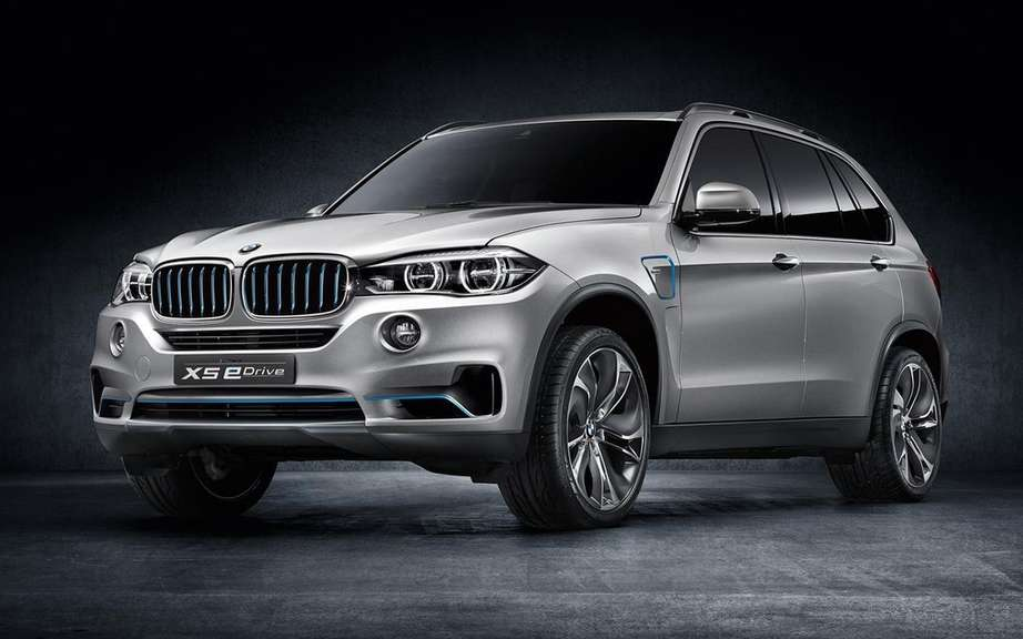 BMW X5 eDrive: production planned for 2015 picture #3