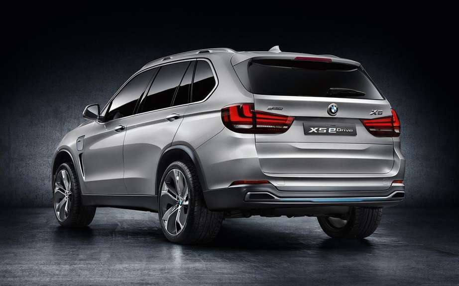 BMW X5 eDrive: production planned for 2015 picture #4
