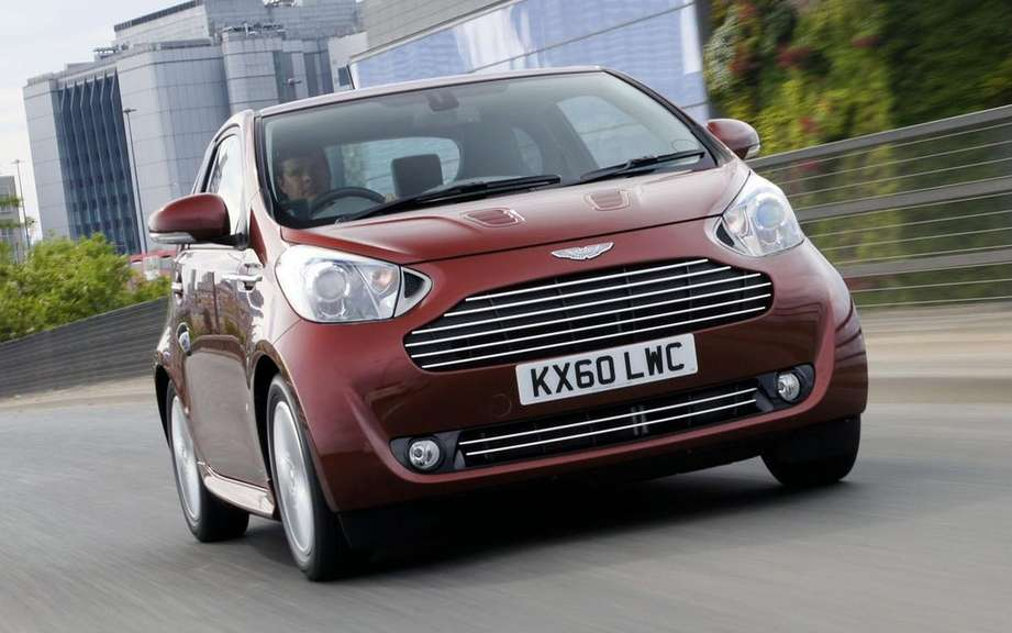 Aston Martin Cygnet will abandon its small picture #2