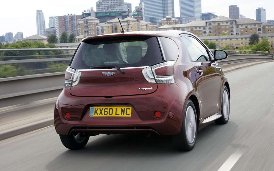 Aston Martin Cygnet will abandon its small picture #3