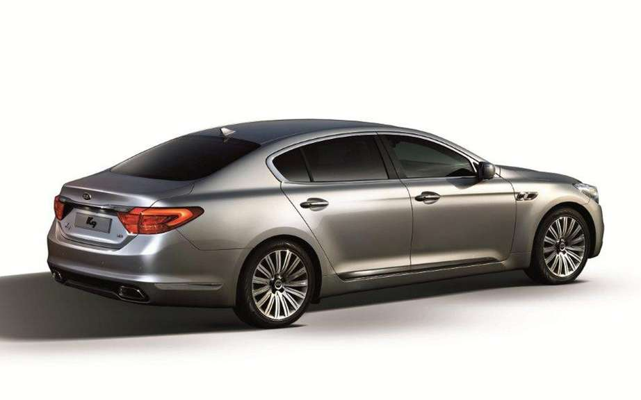 Kia K9: it will become the K900 in North America picture #4