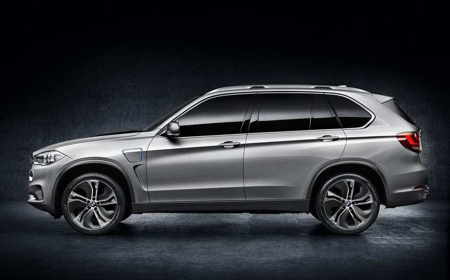 BMW X5 eDrive: production planned for 2015 picture #5