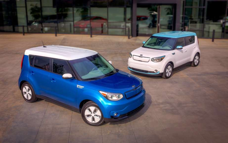Kia Soul EV: soon on sale in North America