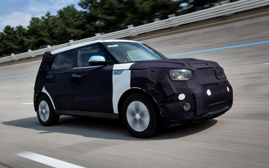 Kia Soul EV: soon on sale in North America picture #2