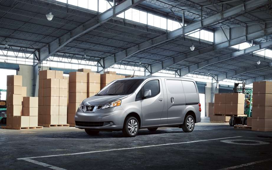 Nissan NV200: nearly 200,000 units sold