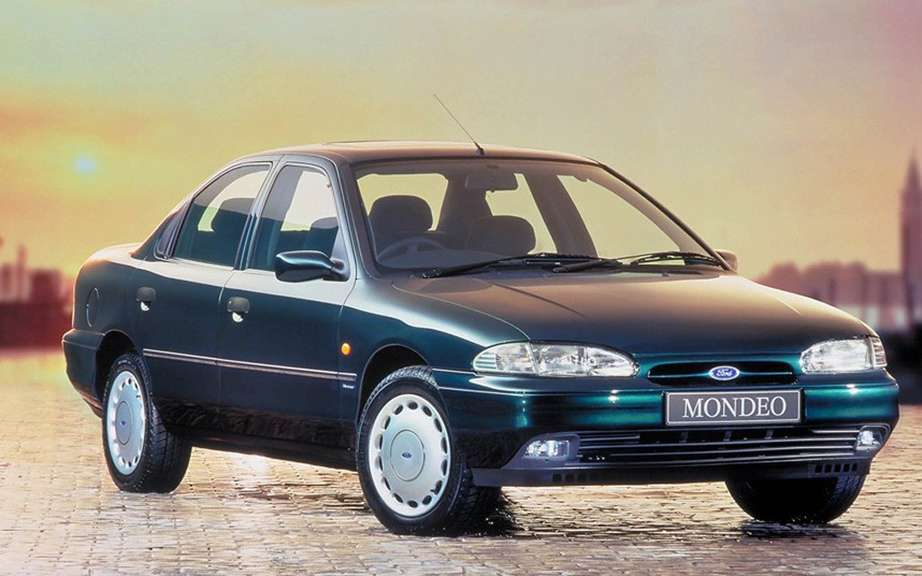 Ford Mondeo: already 20 years