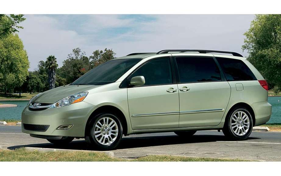 Massive recall of certain Toyota Sienna picture #6