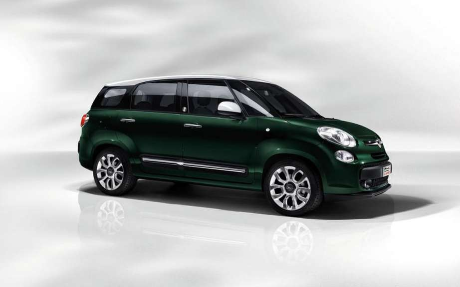 Abarth Fiat 500L in preparation picture #2