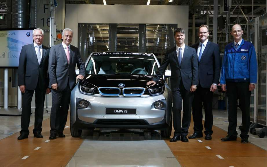 BMW i3: start of production picture #5