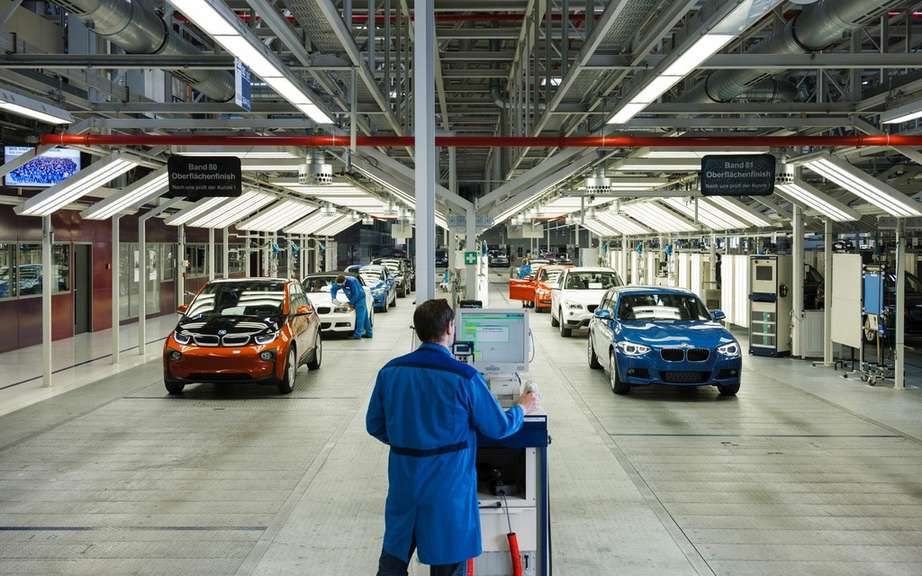 BMW i3: start of production picture #6