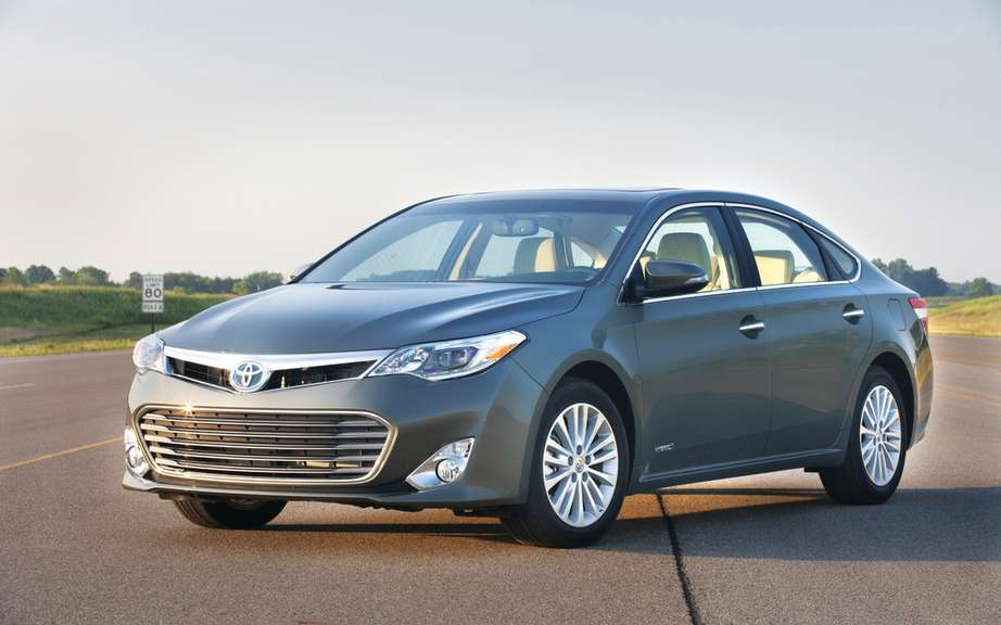The 2013 Toyota Avalon receives two awards in Quebec
