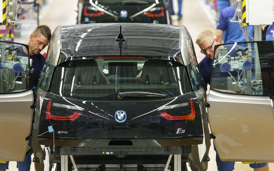 BMW i3: start of production picture #7