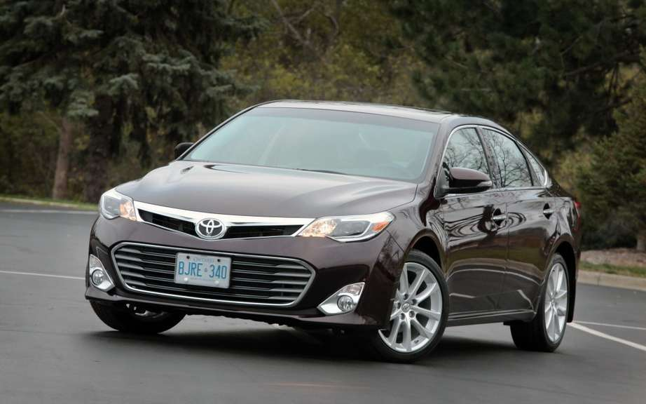 The 2013 Toyota Avalon receives two awards in Quebec picture #2