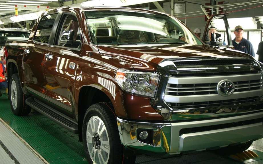 A million ... and it's not over! Toyota produced its millionth truck Texas picture #5