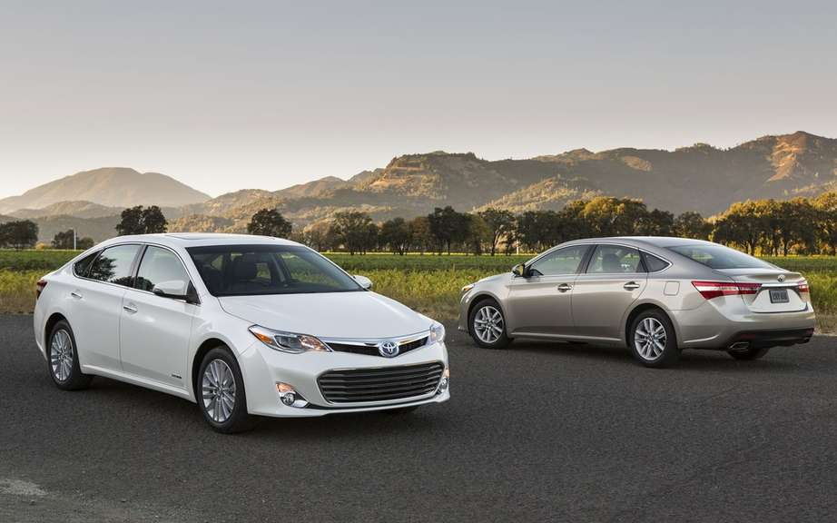 The 2013 Toyota Avalon receives two awards in Quebec picture #4