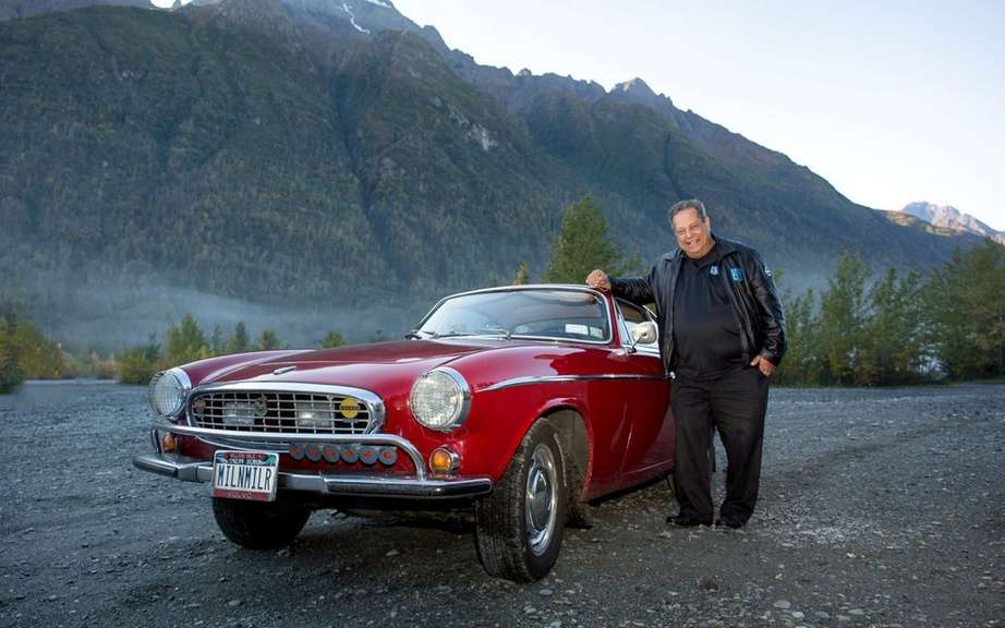 Volvo P1800S 1966 with 3 million miles on the clock