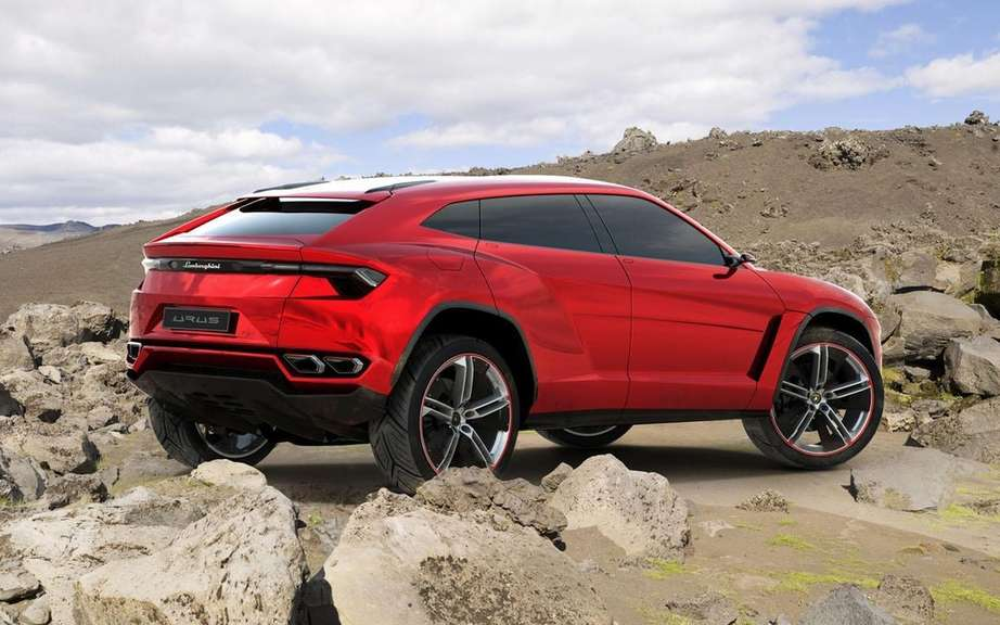 The Lamborghini Urus is built in Slovakia