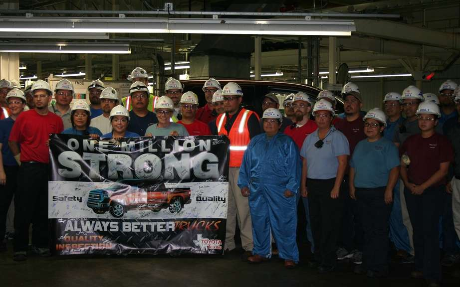 A million ... and it's not over! Toyota produced its millionth truck Texas picture #7