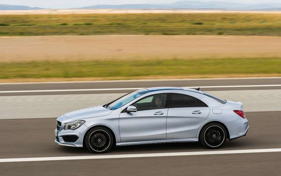Mercedes-Benz CLA Class sold from $ 33,900 picture #2