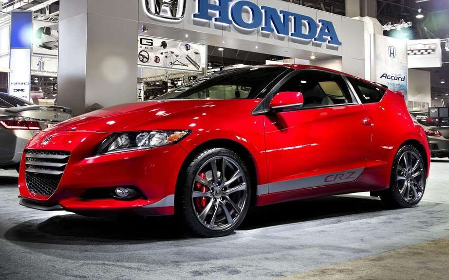 Honda CR-Z: a new model for 2016