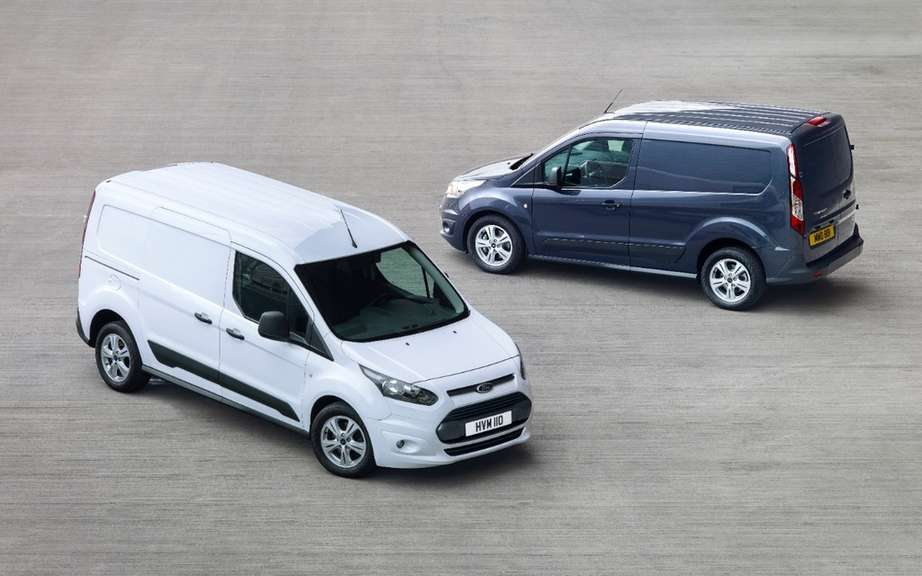 "Ford Transit Connect elected ""Van of the Year 2014"" picture #3"