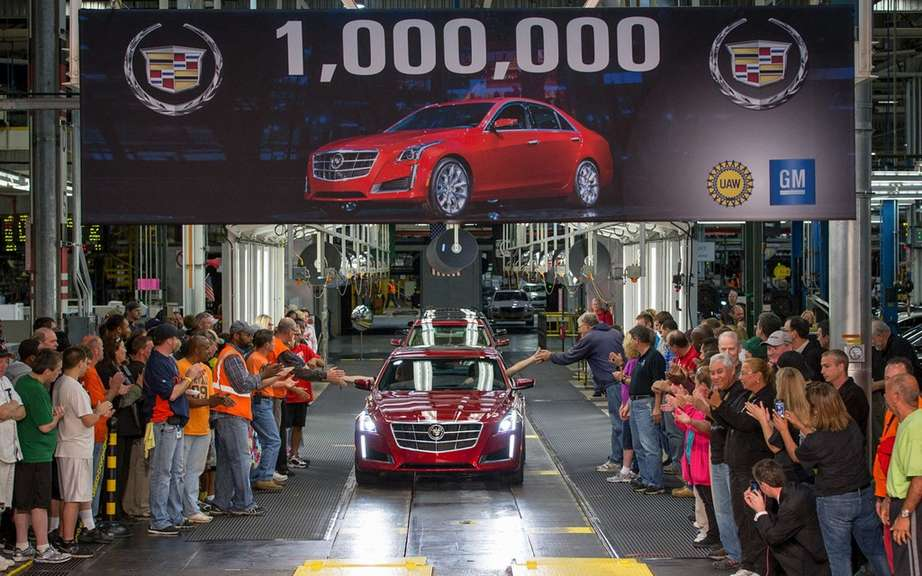 Cadillac assembles its millionth car picture #5