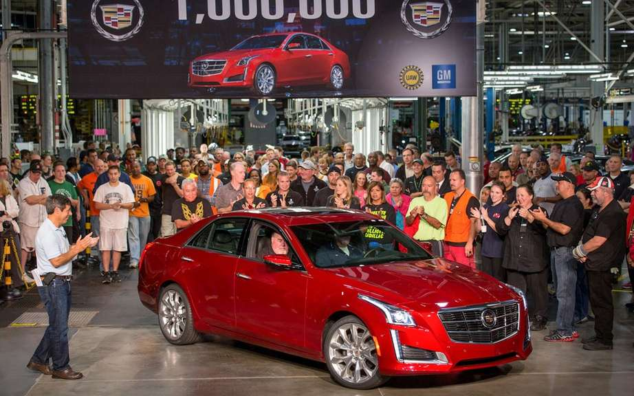 Cadillac assembles its millionth car picture #6