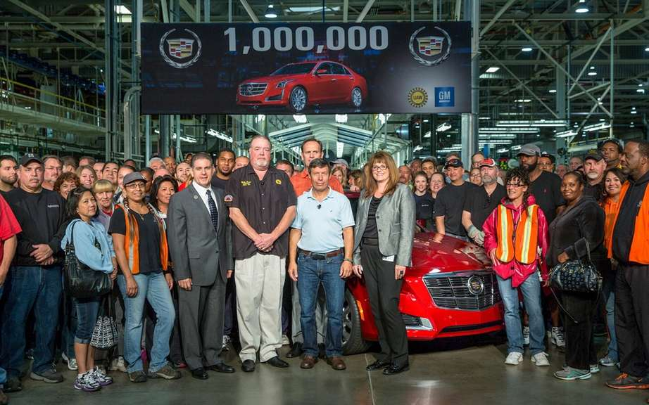 Cadillac assembles its millionth car picture #7