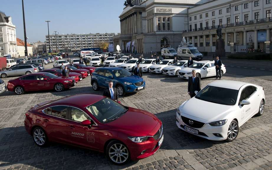 Mazda, official partner of the World Summit of Nobel Peace Prize
