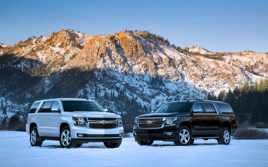 GM presents its large SUV 2015
