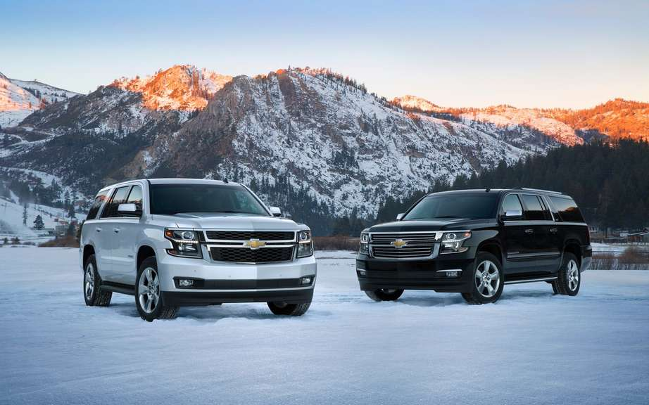 GM presents its large SUV 2015 picture #2