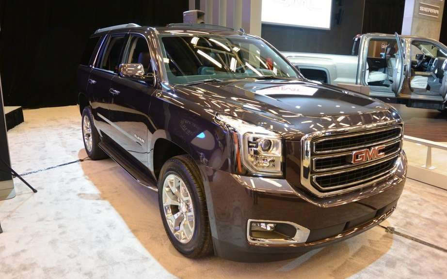 GM presents its large SUV 2015 picture #3