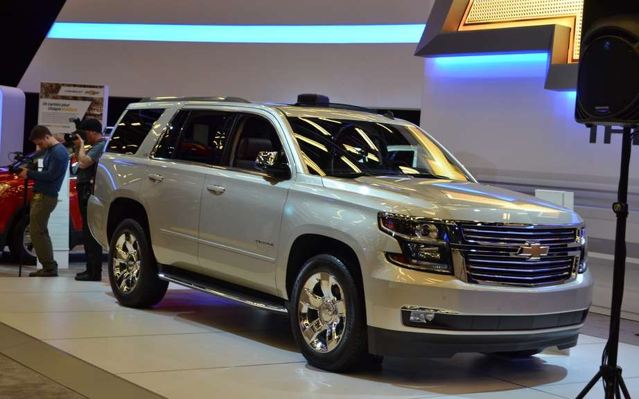 GM presents its large SUV 2015 picture #4