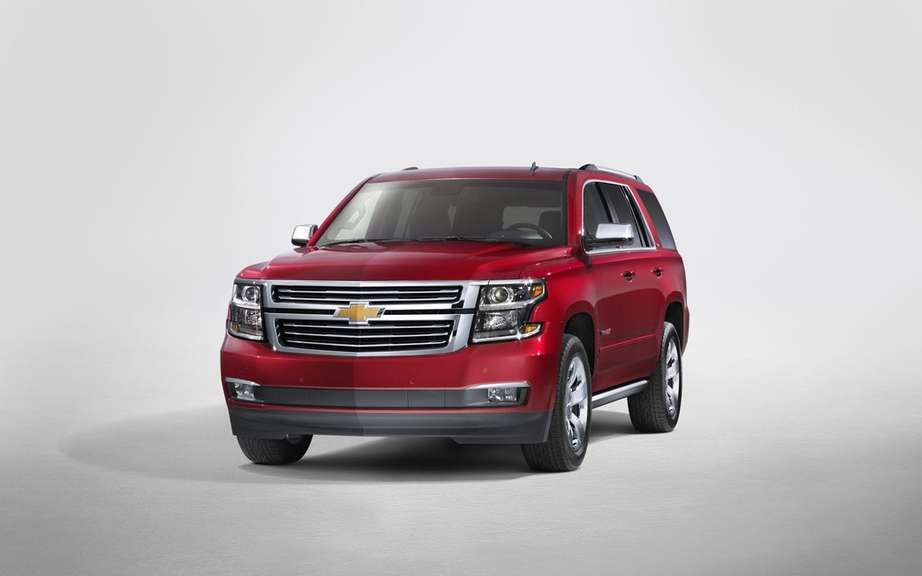 GM presents its large SUV 2015 picture #5