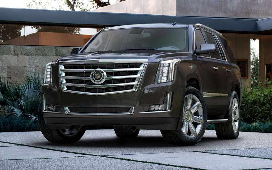 GM presents its large SUV 2015 picture #6