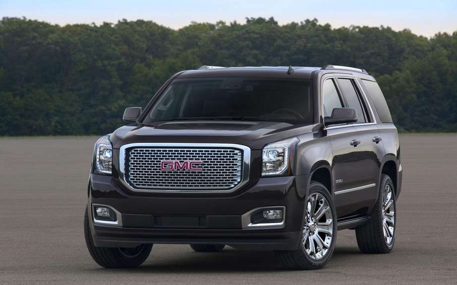 GM presents its large SUV 2015 picture #9