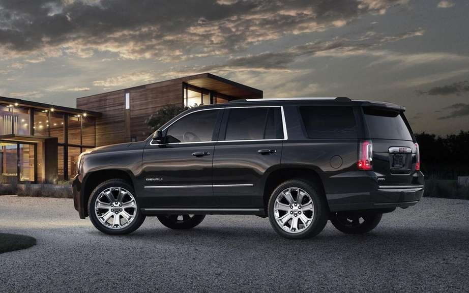 GM presents its large SUV 2015 picture #10