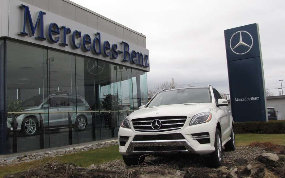 Record sales in August for Mercedes-Benz Canada picture #2