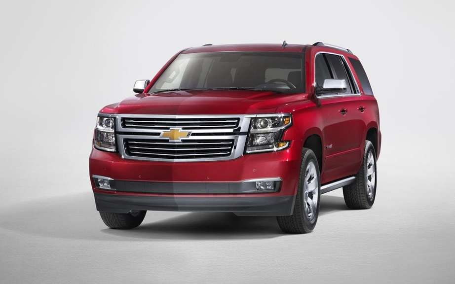 GM presents its large SUV 2015 picture #13