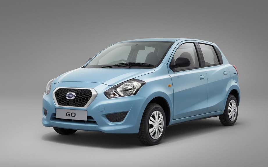 Datsun will present a new model on September 17 picture #2