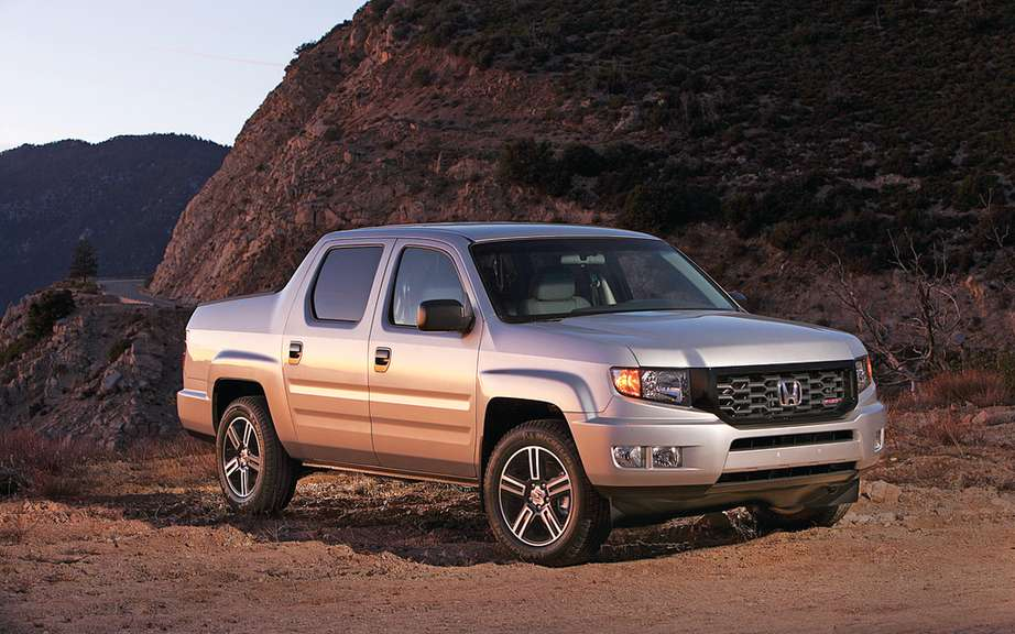 Honda Ridgeline Special Edition sale from November
