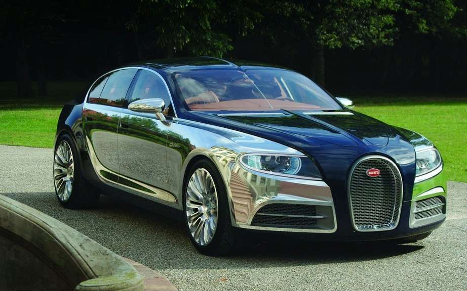 Bugatti 16C Galibier: the project be abandoned