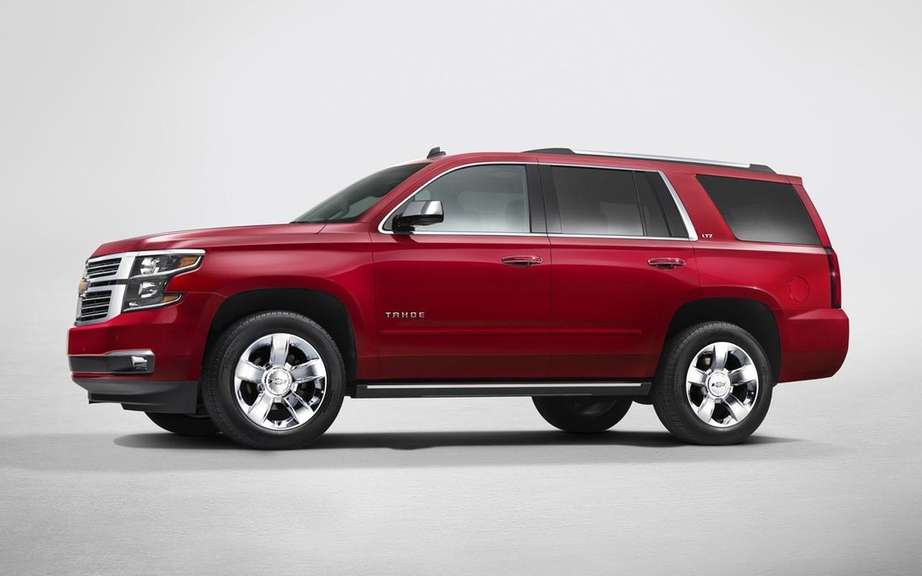 GM presents its large SUV 2015 picture #14
